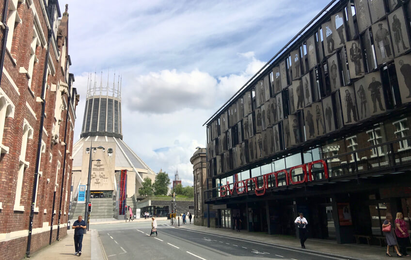 Fun things to do in Liverpool: visit Hope Street